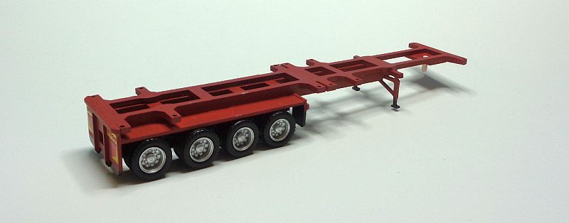 40-40 B- Container Trailer 4 Axle