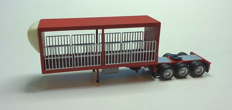 Flat Box A-Trailer withe Gates