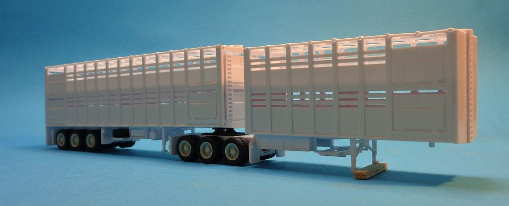 B-Double Cattel Trailers