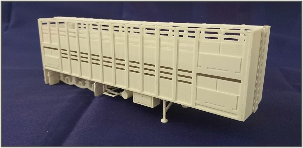 Scale 1:50  A- Cattel Trailer