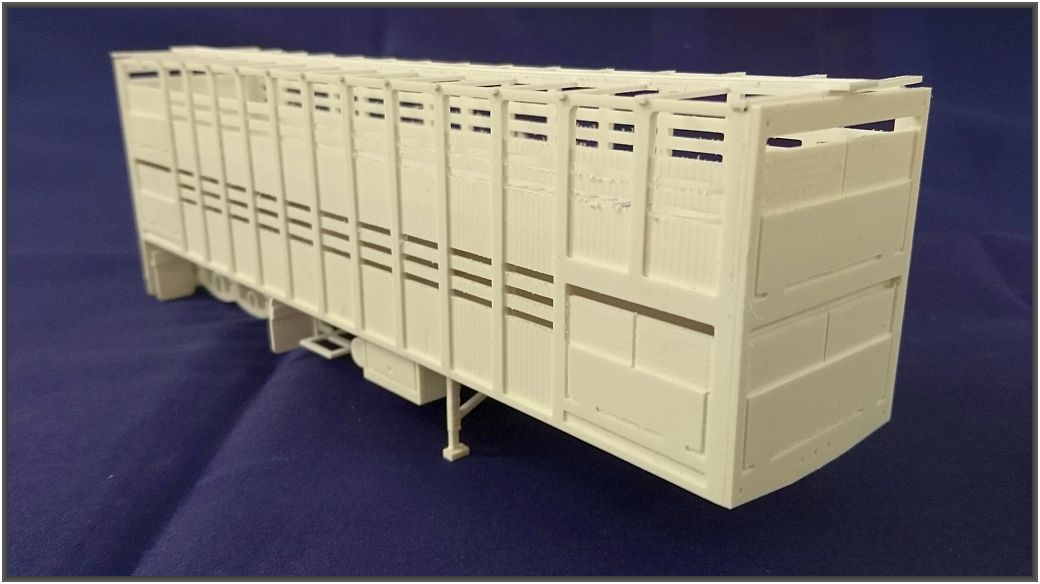Scale 1:50  C- Cattel Trailer