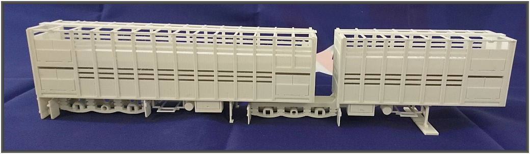 Scale 1:50  B-Doble Cattel Trailer