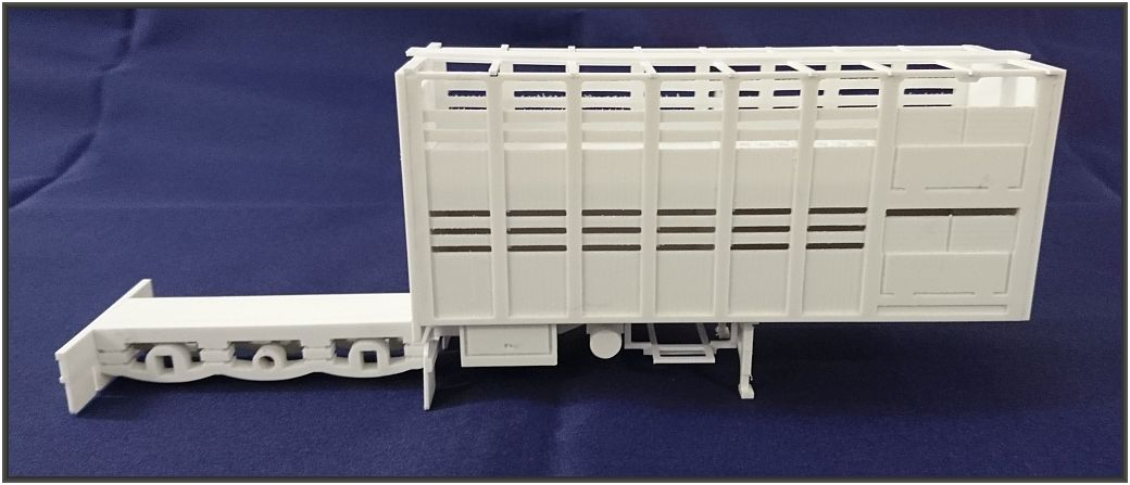 Scale 1:50 B-Double  A- Cattel Trailer