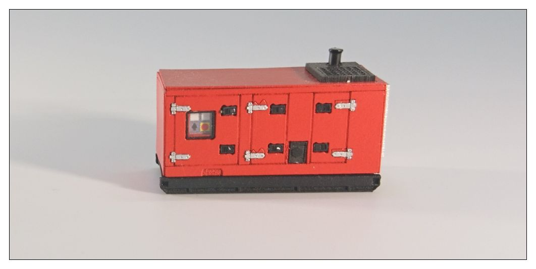 Generator midle Red