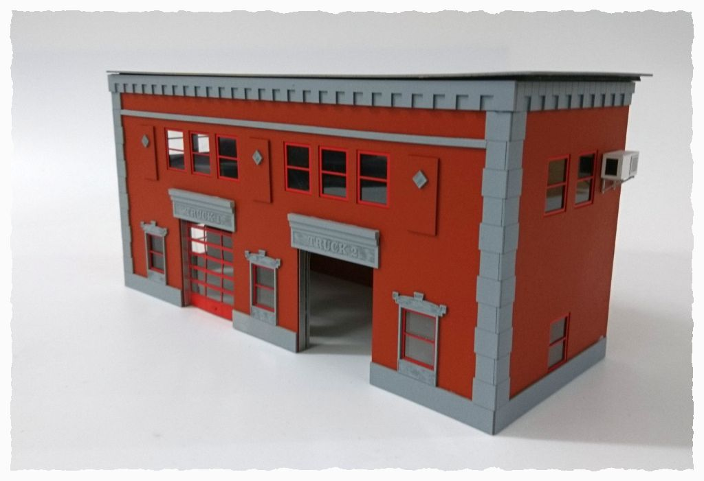 Fire Station 2 Doors Red