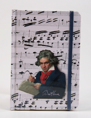 Notizbuch Beethoven