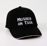 "Baseball-Cap ""Musiker on Tour"""