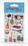 Stickers Musik Club