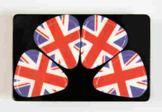 "Plektrum Card ""Union Jack"""