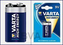 Varta High Energy 9 Volt 6LR61