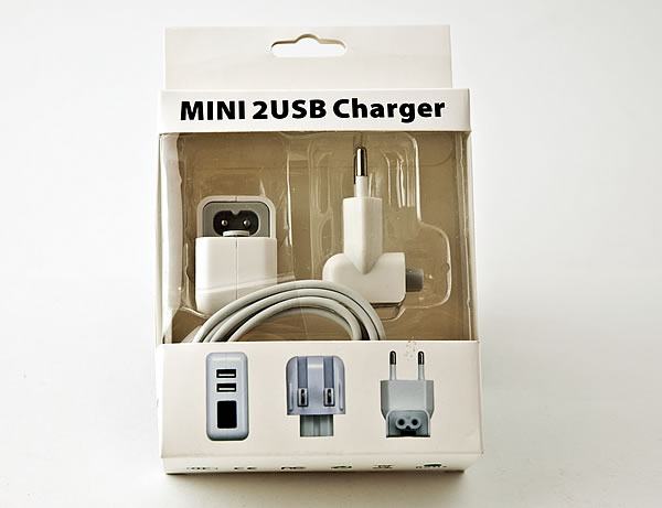 Mini 2USB CHarger