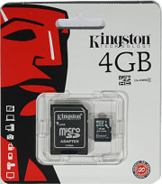 Micro SD-Speicherkarte 4GB Kingston