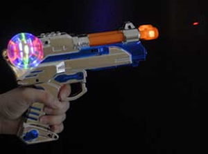 Pistolet Led sonore Ball Orion