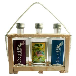 Caissette de 3 absinthes