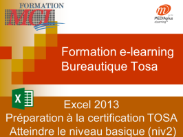 Formation e-learning EXCEL BASIQUE