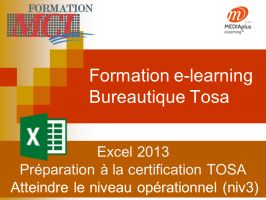 Formation e-learning EXCEL OPERATIONNEL