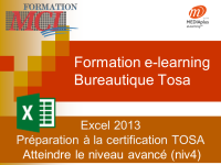 Formation e-learning EXCEL AVANCE