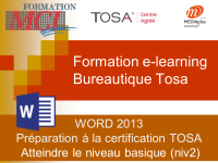 Formation e-learning WORD BASIQUE