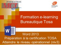 Formation e-learning WORD OPERATIONNEL