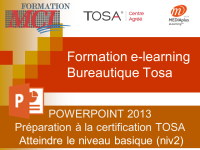 Formation e-learning POWERPOINT BASIQUE