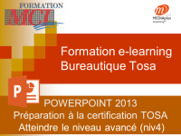 Formation e-learning POWERPOINT AVANCE