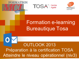 Formation e-learning OUTLOOK OPERATIONNEL