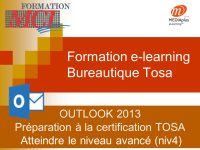 Formation e-learning OUTLOOK AVANCE