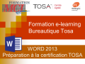 FORMATIONS E-LEARNING WORD