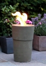 Flame pot Siena muschio