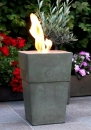 Flame pot Firenze muschio