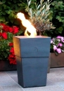 Flame pot Firenze piombo