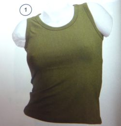 Damen-Tank-Top oliv