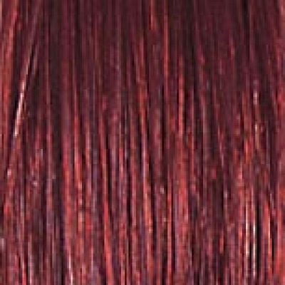 Hairextension, intensiv rot