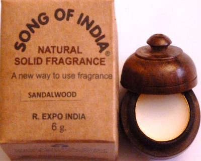 """Song of India"" Parfumcreme ""Precious Sandal"""