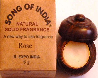 """Song of India"" Parfumcreme ""Rose"""