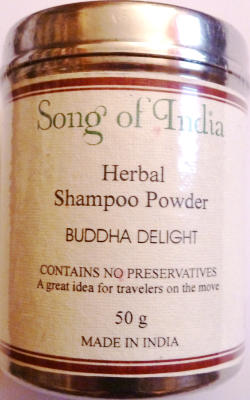 "Song of India Herbal Shampoo Powder ""Buddha Delight"" 50g"