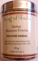 "Song of India Herbal Shampoo Powder ""Precious Sandal"" 50g"