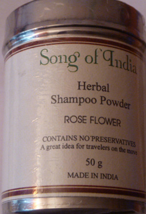 Song of India Herbal Shampoo Powder ROSE FLOWER 50g