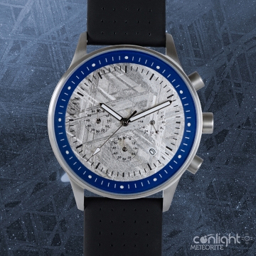 Meteorit Chronograph Blue