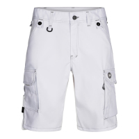 X-TREME SHORTS AUS STRETCH weiß