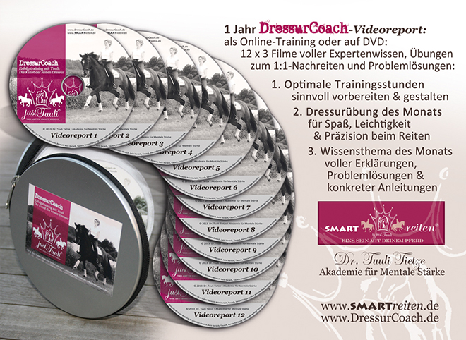 12er-DVD-Set DressurCoach Staffel 1