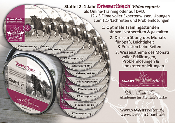 12er-DVD-Set DressurCoach Staffel 2
