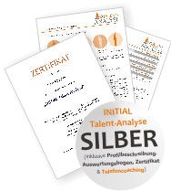 INITIAL Talent-Analyse Silber Sonderpreis