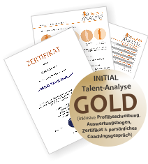 INITIAL Talent-Analyse Gold Sonderpreis