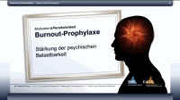 Burnout-Prophylaxe