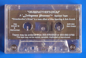 Grandmother's Drum Audio Kassette