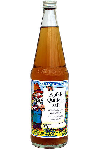 Apfel-Quittensaft