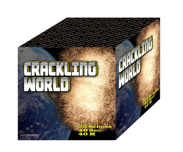 Crackling World 25 Schuss