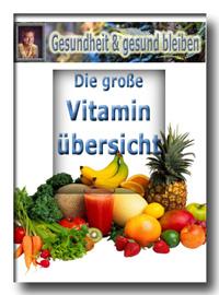 Vitaminübersicht