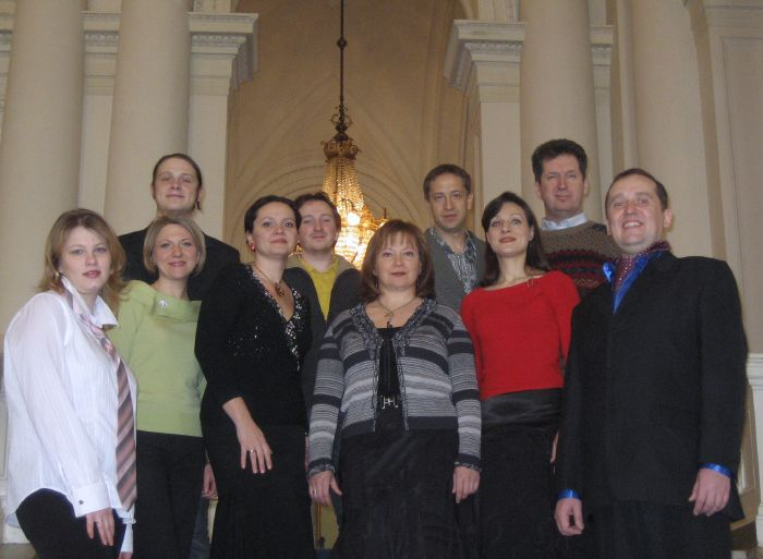 Ensemble vocal LYRA de St.Petersbourg